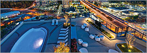 Amenity roof design challenges