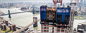 David Adjaye-designed new lux tower tops out in Manhattan