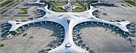 Architects propose a snowflake-shaped terminal