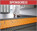 Floor warming system provides sound control and thermal break