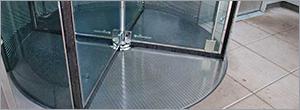 Installation tips for revolving doors