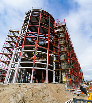 California building overcomes insulation challenges with multipurpose solution