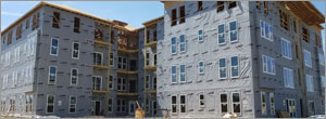 Specifying weather-resistant barriers for multifamily construction projects