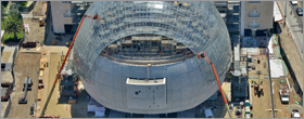 Renzo Piano designs glass dome for Academy Museum of Motion Pictures