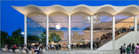 Apple's new Miami store an ode to the city's nautical roots