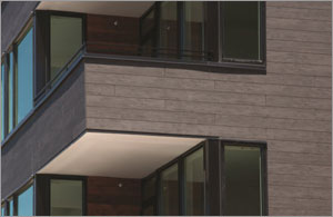 Siding panels set the tone for Seattle building