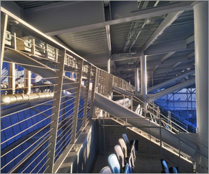 Architectural railing system enhances viewing experience at Minnesota MLS stadium