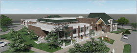 SNHA's $18M expansion plan for Illinois library gets green light