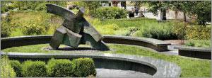 Natural stone creates iconic public spaces