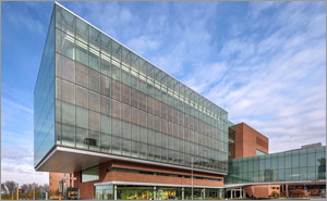 Kansas university building creates iconic look with high-performance glazing