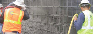 Issues with waterproofing blind-side shotcrete foundation walls
