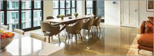 Specifying polished concrete topping slabs with radiant heating