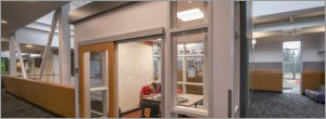 Washington high school opens up possibilities with sliding doors