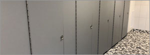Washington university uses HDPE partitions to create privacy