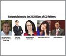 Congratulations to the 2020 class of CSI Fellows