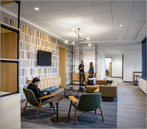Texas HQ supports creativity and comfort with acoustical ceiling systems