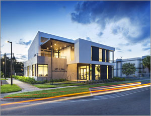 Miami office building blends contemporary style with maximum functionality