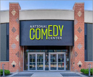 Timeless steel windows unite old and new at NY comedy center