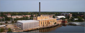 Studio Gang transforms Wisconsin power plant into student union
