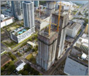 Construction tops off at Miami tower