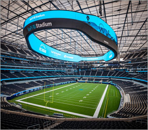 State-of-the-art California stadium shines with architectural railing systems