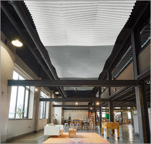 Pennsylvania school adds trio of ceiling treatments to improve acoustics in new space