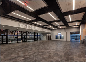 Acoustic ceilings are a slam dunk for Oklahoma school's multipurpose space