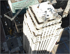Minnesota's historic Rand Tower renovation utilizes EPDM roofing