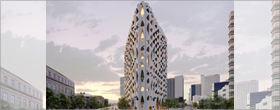 Studio Gang's design for Denver mixed-use building is inspired by Colorado's native aspen tree