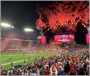 Building the Super Bowl stadium in Florida