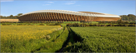Zaha Hadid Architects to design world's first all-wood football stadium