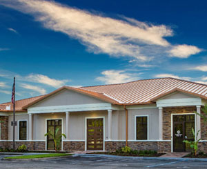 Durable exterior coating gets Florida HQ ready for the long haul