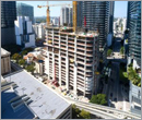 Construction of Miami's 57-story office tower takes shape