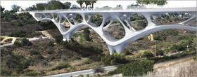 3D-printed San Diego pedestrian bridge concept wins 2021 Forge Prize