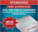 Free download: 2021 edition of ACR, the NADCA Standard