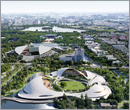 MAD Architects civic center design fuses architecture with landscape