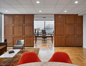 Acoustic ceilings help NAB's D.C. HQ meet aesthetics, sustainability goals