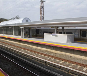 NY railroad updates station platforms with skylight and canopy systems