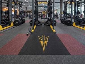 High-performance flooring helps Arizona university fitness center get back in shape