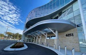Sentara Brock Cancer Centre adds skylight canopy