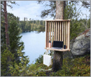 Finnish city sets up workstations within nature sites