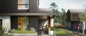 Logan Architecture designs first 3D-printed homes
