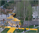 Beijing architects construct outdoor park in Xiaopu Cultural Plaza