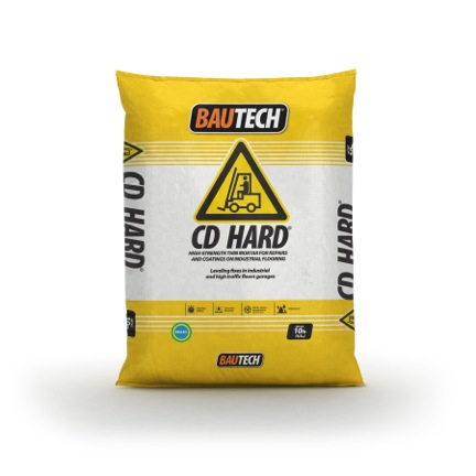 Bautech CD Hard - Smooth Mortar for Floor Coating