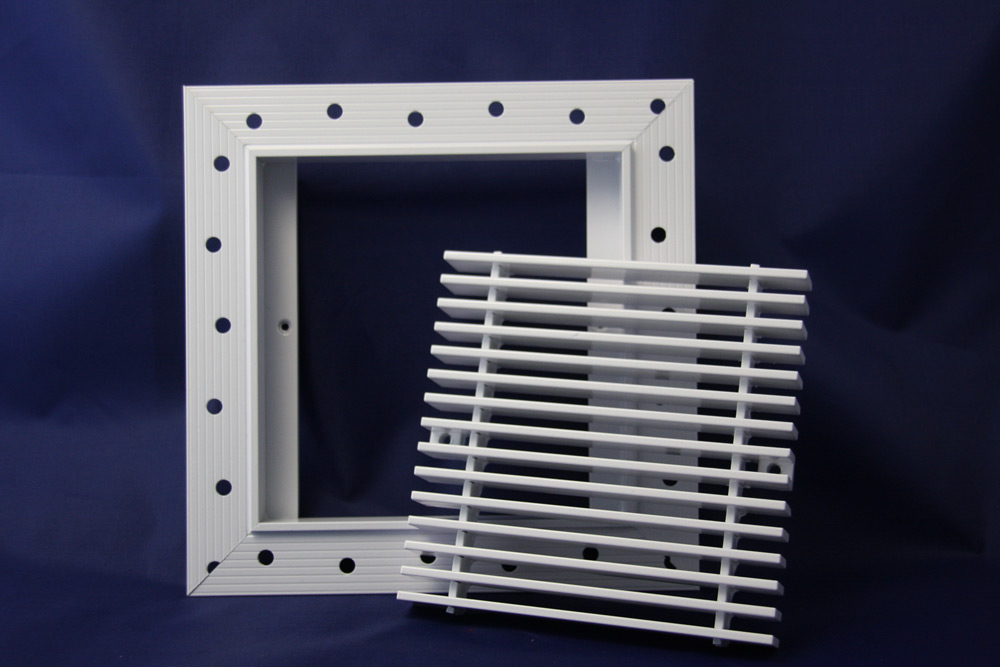 AAG Authentic Patented Plaster J-bead® Frame for Linear Bar Grilles