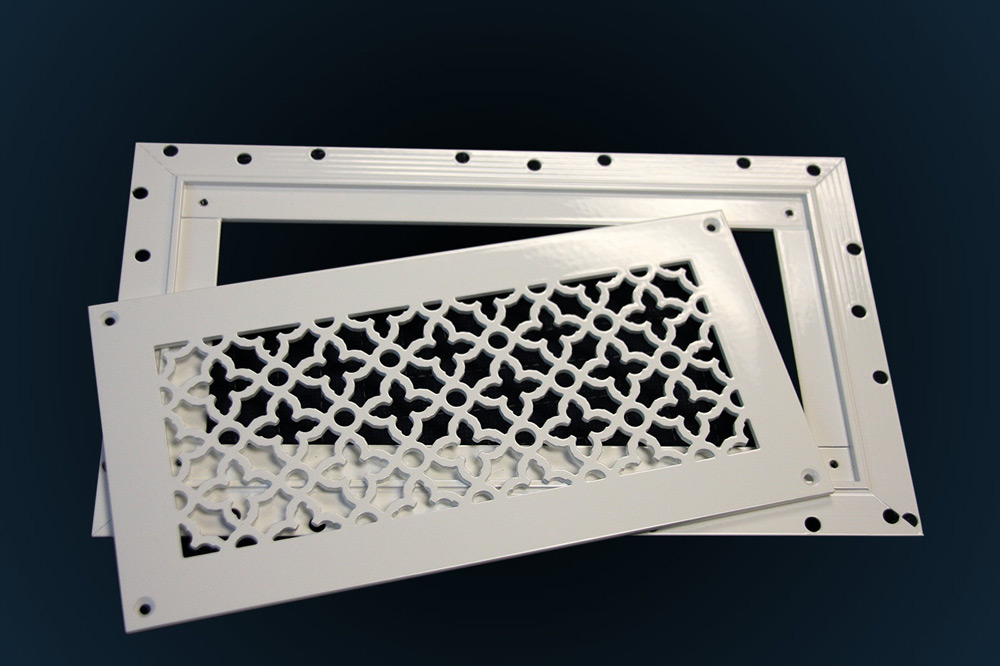 AAG Plaster J-bead Frame for Perforated Grilles