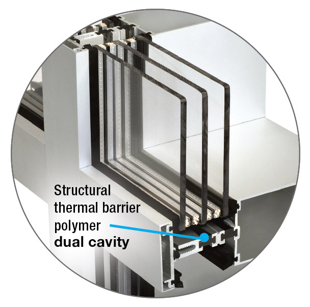 High performance thermal barrier technology by Azon
