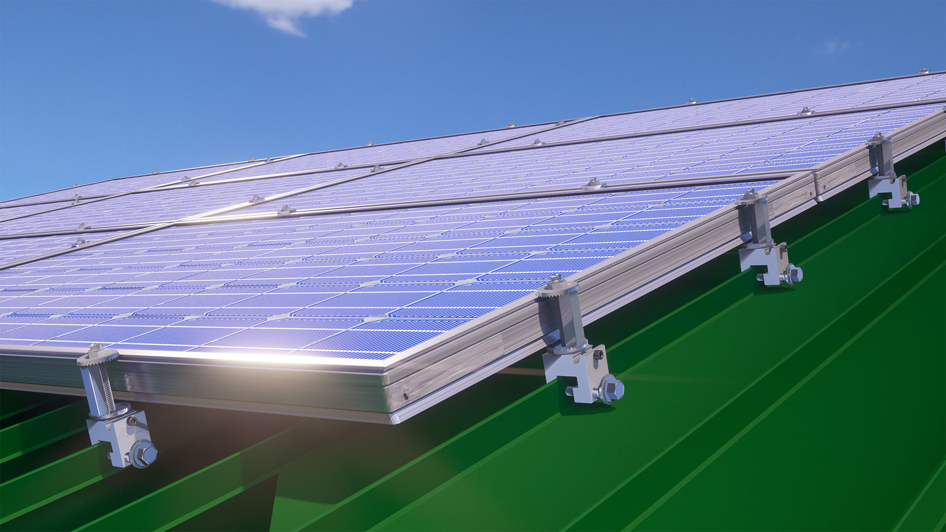 A2® Standing Seam Solar Clamp Assembly