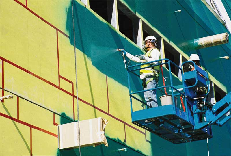 Air Barrier Membrane : Testing fluid applied air and water barriers