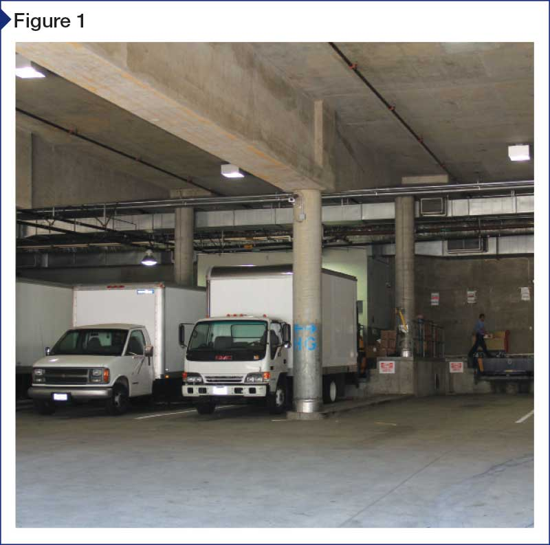 Split-slab waterproofing in high-load traffic environments